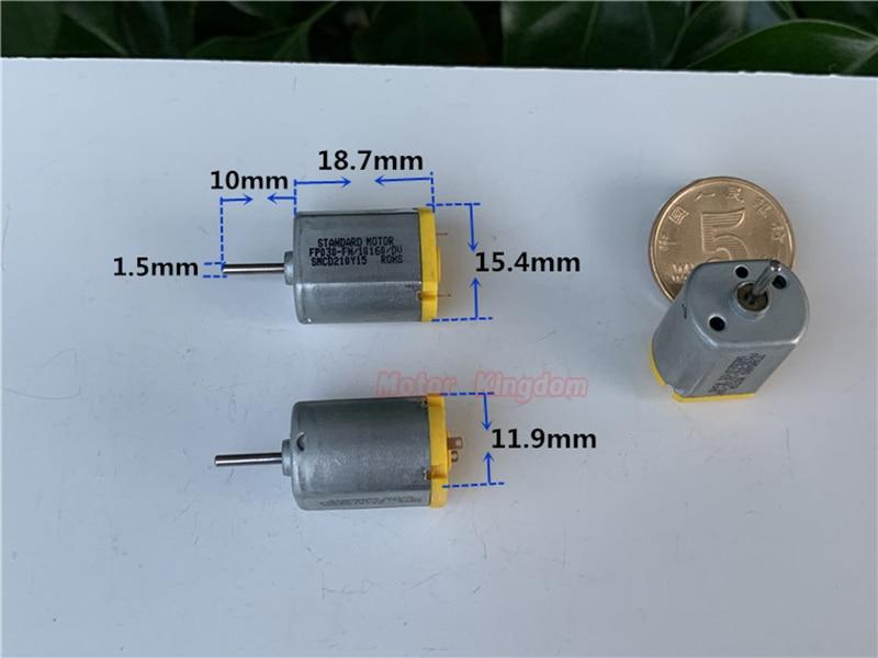 Micro 030 Motor DC 3V-6V 17000RPM High Speed 7mm Shaft Motor DIY Toy Car Model