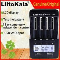 Genuino/Liitokala Original Lii500 18650 cargador de batería de la batería de apoyo ver prueba de carga/descarga para 18650 AA AAA NiMH