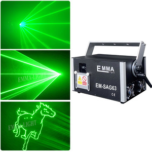 1w green laser 3D animation scanner projector ILDA DMX dance bar Xmas Party Disco DJ effect Light stage Lights Show system