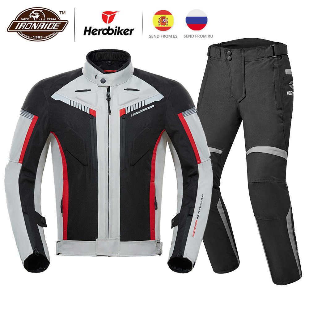 Jugando ajedrez honor Haz un esfuerzo  HEROBIKER Chaqueta impermeable para motociclista para hombre, chaqueta para  Moto, 4 estaciones, para montar en Moto Chaquetas  - AliExpress