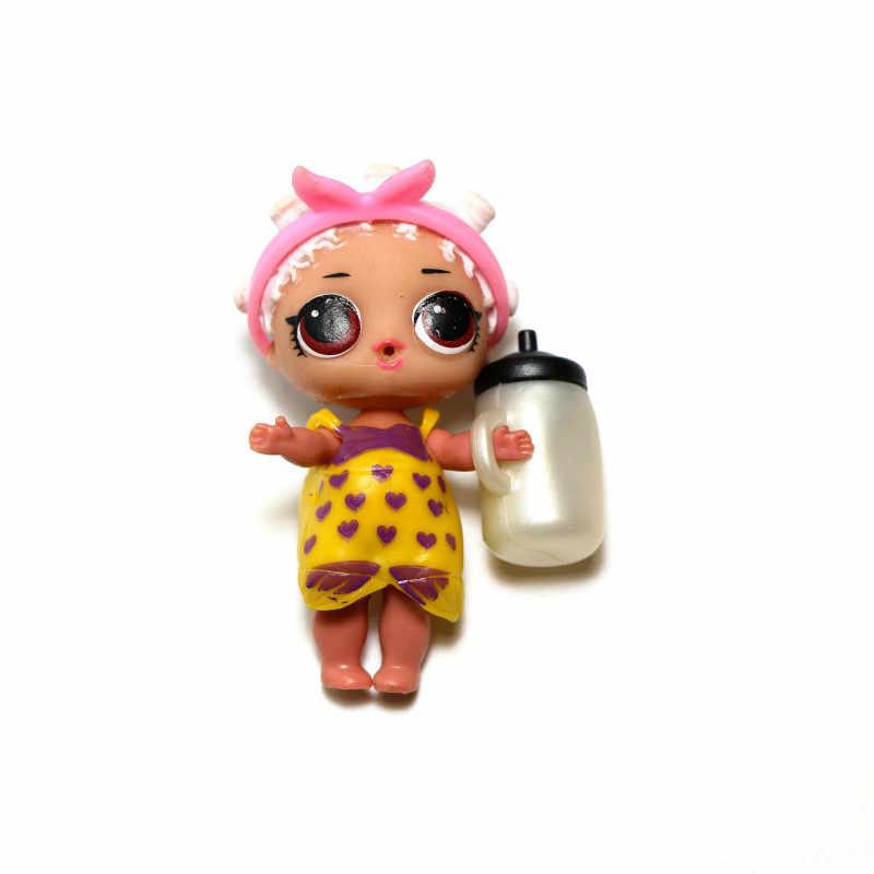 10 ซม.L.O.L.SURPRISE! Original LOL ตุ๊กตาของเล่นตุ๊กตาแปลกใจ LOL รุ่น DIY คู่มือกล่องตาบอดของเล่นสำหรับเด็ก