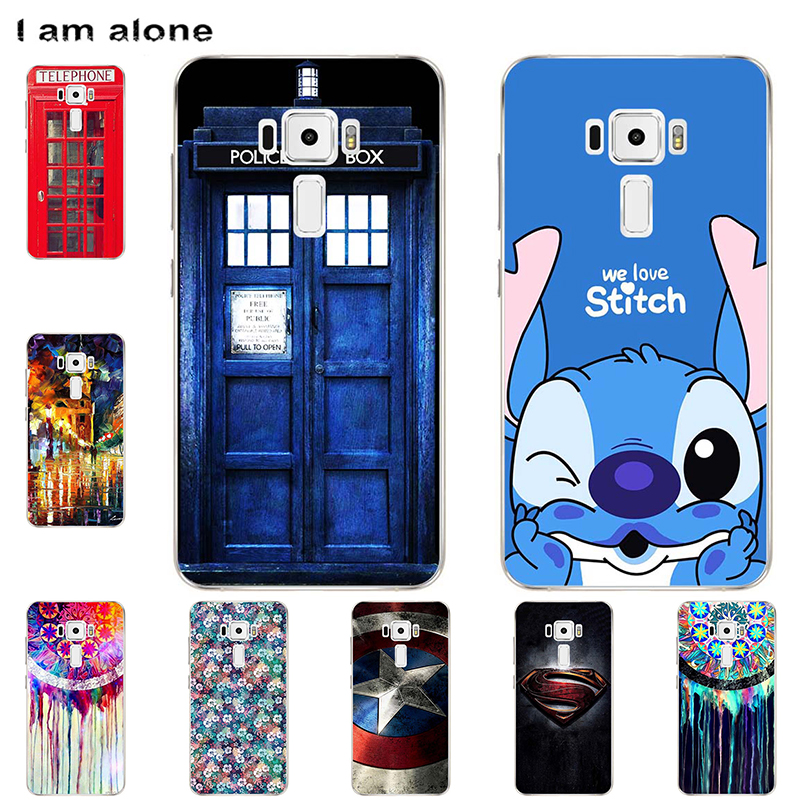 Phone <font><b>Cases</b></font> For <font><b>Asus</b></font> Zenfone 3 Max Laser <font><b>ZC520TL</b></font> ZC551KL ZC553KL ZE520KL ZE552KL Soft TPU Bag Mobile Cartoon Cover Free Shipping image