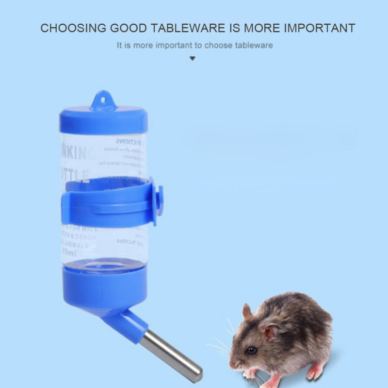250 Ml No Drip Hamster Water Bottle Small Pet Water Feeder For Hamster/Hedgehog/Sugar Glider/Rat/Mice Pet Drinking Bottles