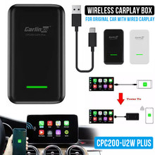 Carlinkit Apple CarPlay беспроводной активатор Carplay для автомобильного автоматического подключения беспроводной адаптер Carplay Auto