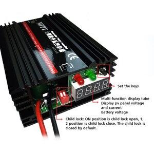 MPPT Контроллер заряда на солнечной батарее, 24 В 36 в 48 в 60 в 72 в, автоматический регулятор заряда солнечной батареи Aanel, литиевая батарея DIY