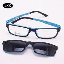 Ультра-светильник, очки на магнитной застежке, солнцезащитные очки, близорукость, оправа, поляризационные очки, функциональные 3D очки Ultem Uv 400, очки jkk70