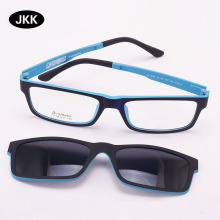 Ultra-lightGlasses Magnet Clip on Sunglasses Myopia Frame Polarized eyeglasses F