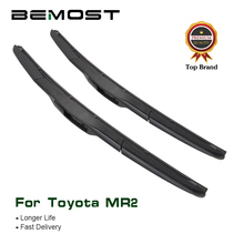 BEMOST Auto Car Wiper Blade Clean The Windshield For Toyota MR2 Cabrio Spyder Fit Hook Arms 1999 2000 2001 2002 2003 2004 2005 aluminum radiator fit for toyota cellica gt gts 2000 2005 2row manual