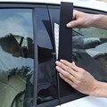 Зеркальная поверхность для Toyota RAV4 2007 2008 2009-2011 2012 2013 2014 2016 2017 2018 2019 панель B + C Наклейка на окно
