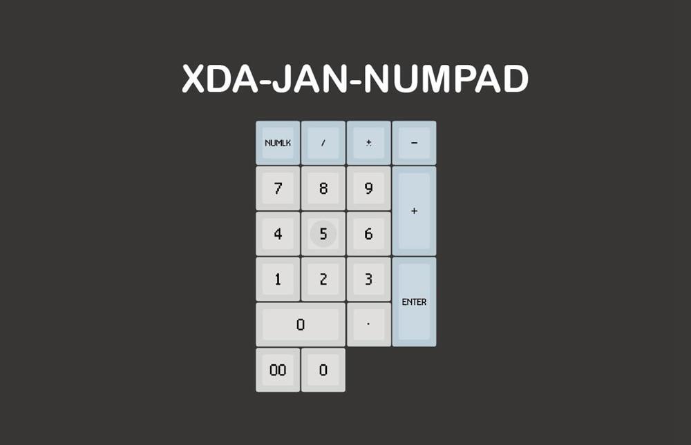像素XDA-Numpad