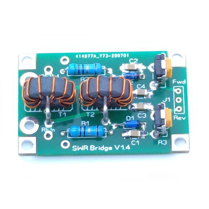 New 1.8M-30MHz 3.5-30MHz SWR Bridge RF SWR Reflection Bridge For RF Network
