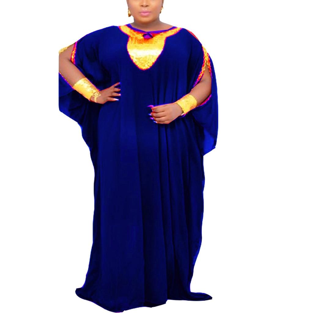 afrikanische kleider für frauen dashiki lange maxi kleid 2021 sommer plus  größe kleid damen traditionelle afrikanische kleidung