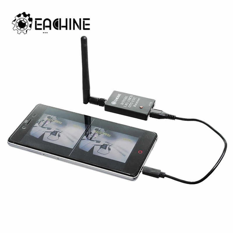 Eachine ROTG01 UVC OTG 5.8G 150CH Full Channel FPV Receiver For Android Mobile Phone Smartphone
