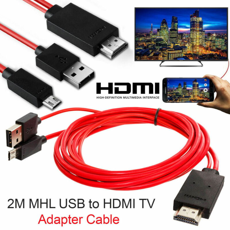 Venda quente mhl micro usb para hdmi 1080p tv cabo adaptador para lg android samsung telefones 11pin