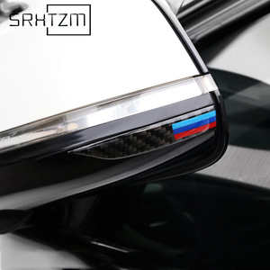 Carbon Fiber Rearview Mirror Anti-Rub Strips Protector For Bmw E90 E60 F30 F34 F10 F20 X1 X3 X4 X5 X6 Car Anti Collision Strip