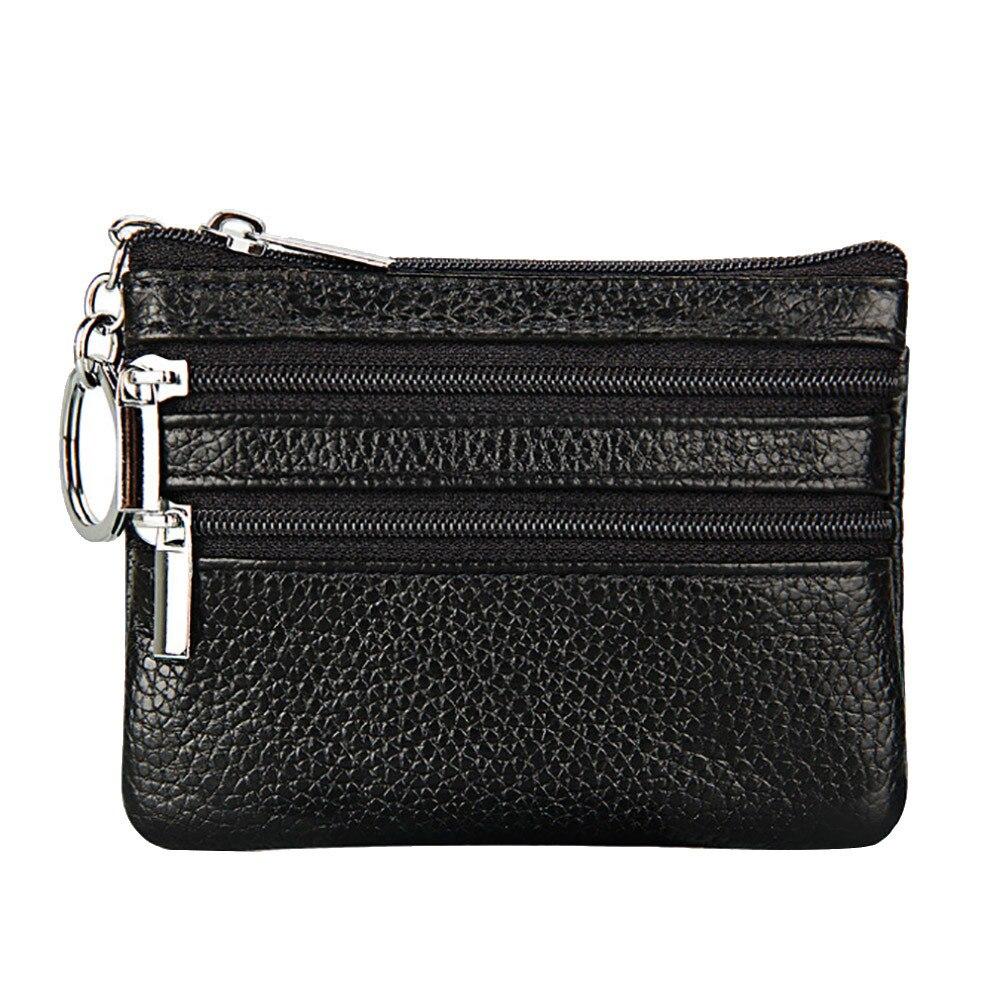 Nouveau porte-monnaie en cuir femmes petit portefeuille changer sacs à main sac dargent porte-carte à glissière portefeuilles en dollars portefeuille Paquet de carte