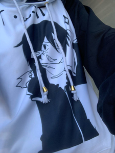 Image 5 - Unisex Männer Frauen Anime Noragami YATO Baumwolle Hoodie Mantel Sweatshirts Cosplay Kostüme