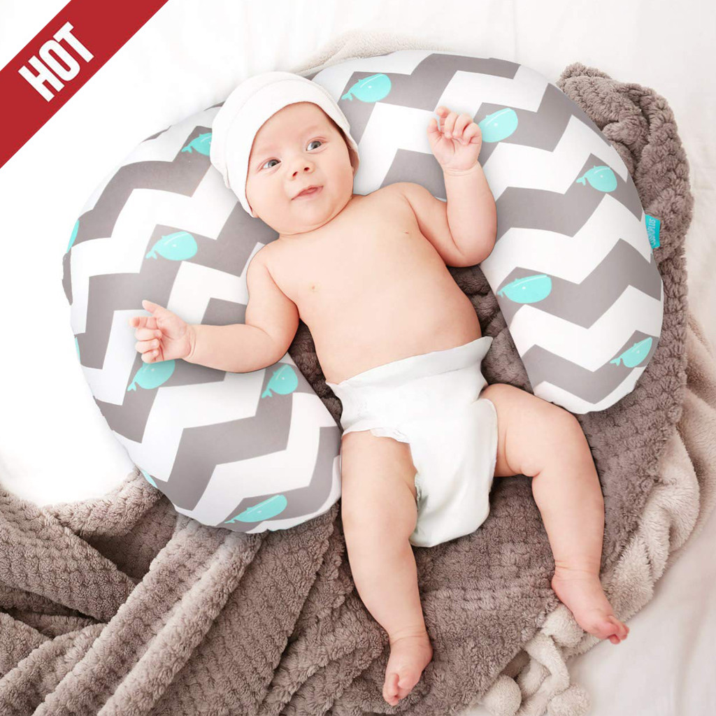2PC Childcare Babies Breastfeeding Pillow Cover Newborn Baby Support Seat Nursing Slipcover Asiento De Apoyo Almofada