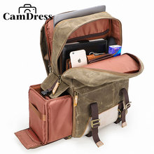CamDress breathable kamera shock absorption laptop camera backpack national geographic bag & lens photograph luggage bags case