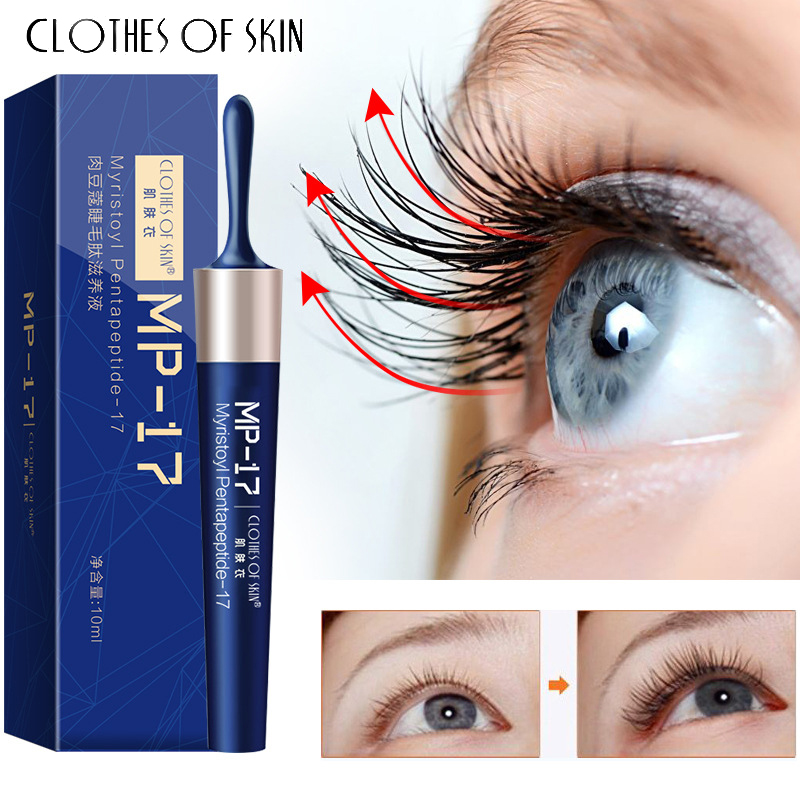 Eyelash Growth Serum Liquid Eyelash Enhancer Vitamin E 7 Day Treatment Lash Lift Eyes Lashes Mascara Nourishing Eye Essence 10ml