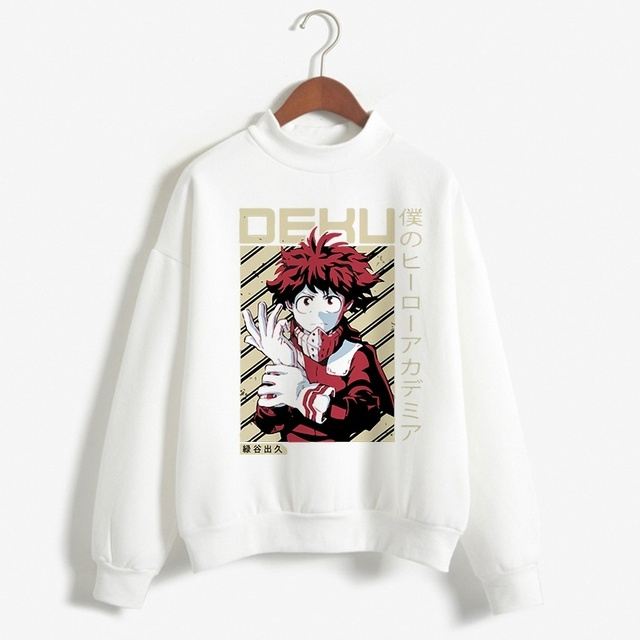 MY HERO ACADEMIA THEMED SWEATSHIRT (6 VARIAN)