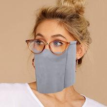 Mascarilla divertida para usar gafas, cómoda, transpirable, de tela, cosplay de Halloween, nueva