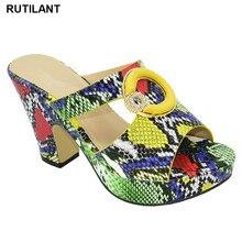 Último diseño, zapatos de mujer de diseño italiano, decorados con diamantes de imitación, zapatos de verano, más tamaño de zapatos de mujer, tacones altos, zapatos de fiesta