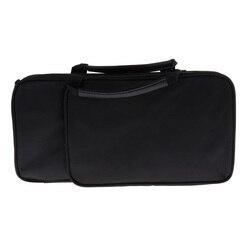 Bolsa de viagem de transporte duro caso organizador de armazenamento compatível com b plana clarinete instrumento