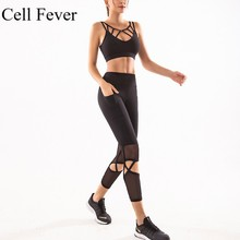 Gym Set Women 2 Piece Yoga Set Workout Clothes for Women Sports Bra and Leggings Set Female Sport Suit Fitness Sports Wear female tights 141232 1179 sports and entertainment for women sport clothes tmallfs