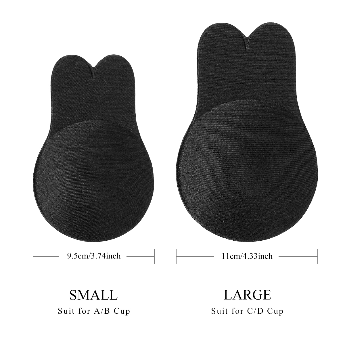 Strapless Bra Adhesive Nipple Breast Pasties Cover Reusable Silicone Lingerie Pad Enhancers Push Up Bra Backless Bra in Sports Bras from Sports Entertainment