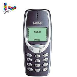 Nokia 3310 GSM-900/1800-SUPPORT Russian Qwerty Keyboard Refurbished Cell-Phone Arabic