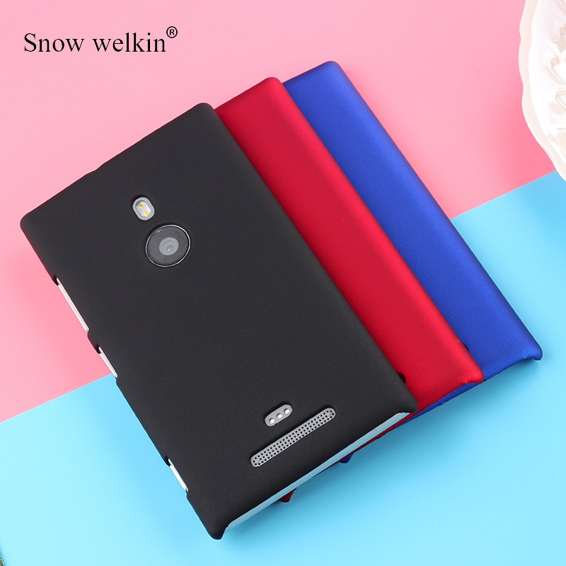 PC Matte Plastic Hard Case Cover For Nokia lumia 520 535 540 550 625 630 640 650 730 830 920 925 930 950 XL 1020 1320 Bag image