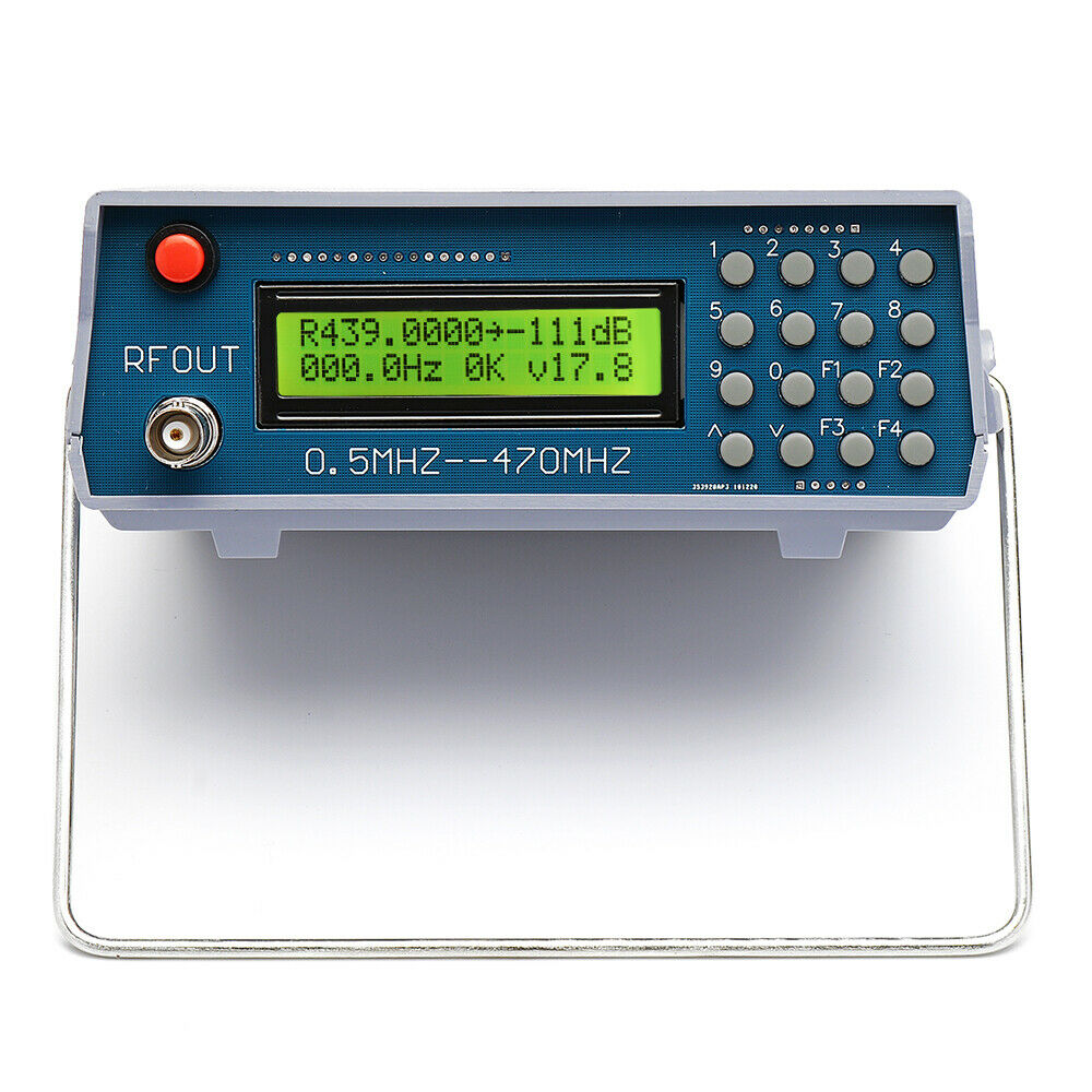 1Hz-6GHz Frequency Counter Kit Frequency Meter Statistical Function 11 bits//sec