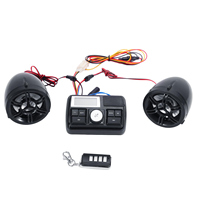 Outdoor Anti Theft Waterproof Motorcycle Audio Set Mp3 Playing Bluetooth Built In Alarm FM Radio Practical Accessories