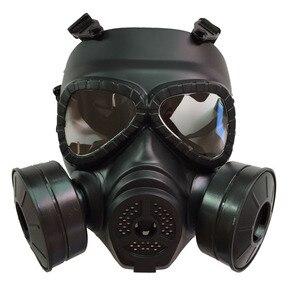 Image 3 - כל פנים ציור ריסוס respirator גז מסכת להגן על אבק מסכת לבטיחות עבודה מסנן ריתוך ספריי מגן אנטי זיהום
