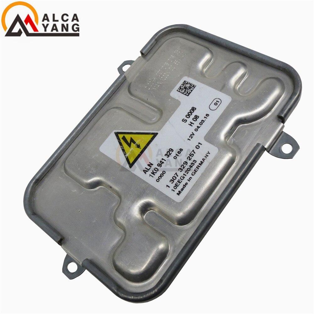 Used 1K0941329 10EEG1000 130732925700 Xenon HID Ballast Control Unit Module Kit For V-W Touran Passat CC Skoda Yeti