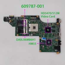 Für HP Pavilion DV7 4000 Serie DV7T 4000 609787 001 Grün Farbe HD5470/512M Video Karte DA0LX6MB6H1 Motherboard Mainboard getestet