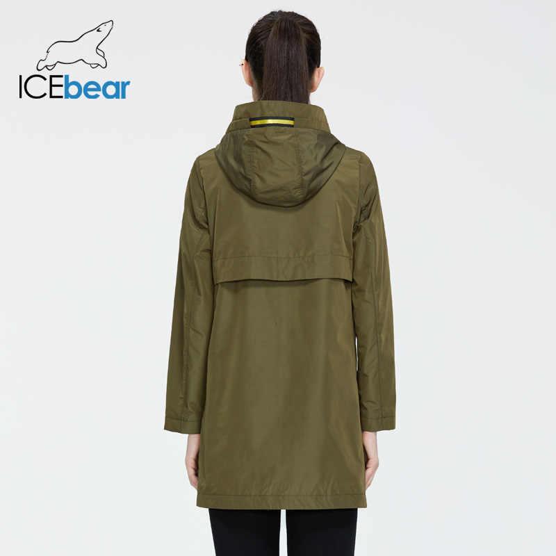 ICEbear 2020 여성용 봄용 재킷 품질 여성용 스포츠 용 재킷 패션 여성 자켓 여성 브랜드 의류 GWF20167I