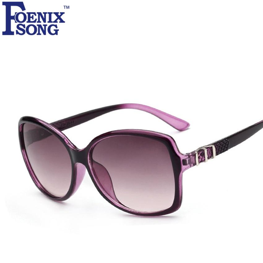 FOENIXSONG 2019 New Sunglasses For Men Brand Unisex Retro Oculos De Sol Women Sun Glasses Vintage Eyewear Black Frame