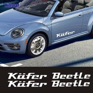 2 uds pegatina de carrocería para Volkswagen Beetle kafer