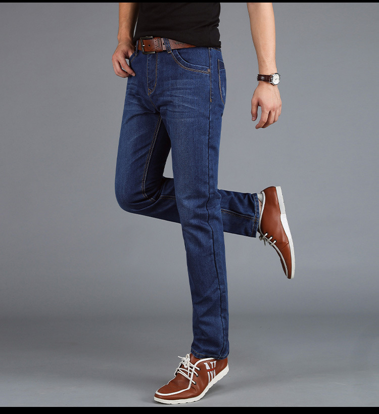 Casual Slim Cheap Straight Jeans