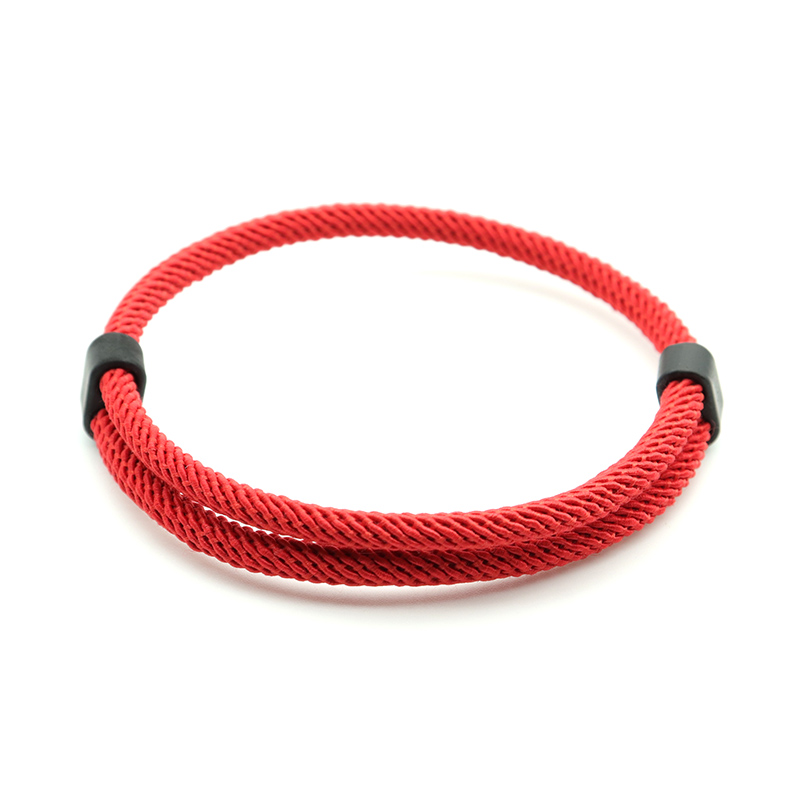 Trendy Thread Bracelet Mens Women Adjustable Red Braslet For Lovers Distance Couple Brazalete Minimalist Yoga Meditation Braclet