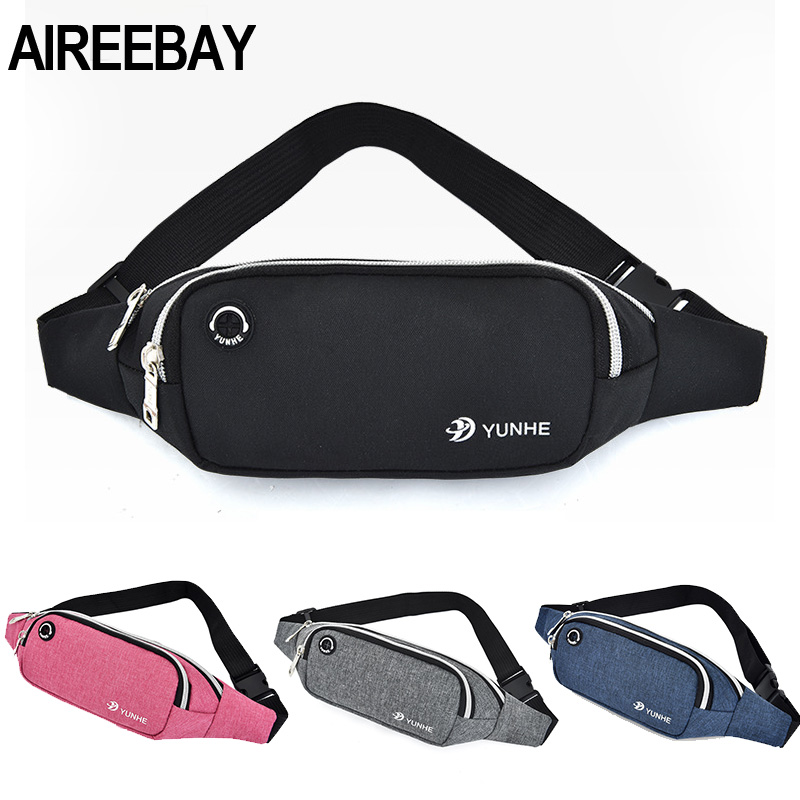 AIREEBAY Waist Pack For Women Fashion Multifunction Men Fanny Pack Bum Bags Hip Money Belt Travel For Running Mobile Phone Bags