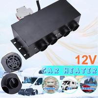 Universal 12V Car Heater Windscreen Defrosting Demister Car Heating Warmer Car Heater Parking Heater With Four Fans Hot Sale