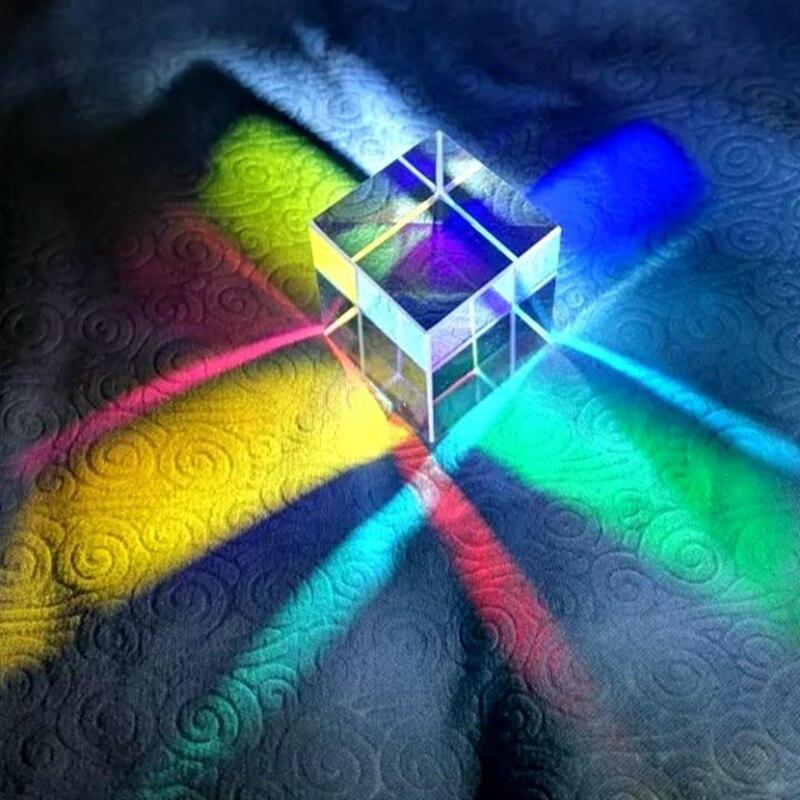 Купить оптическая цветовая призма 18 мм шестигранный яркий светильник