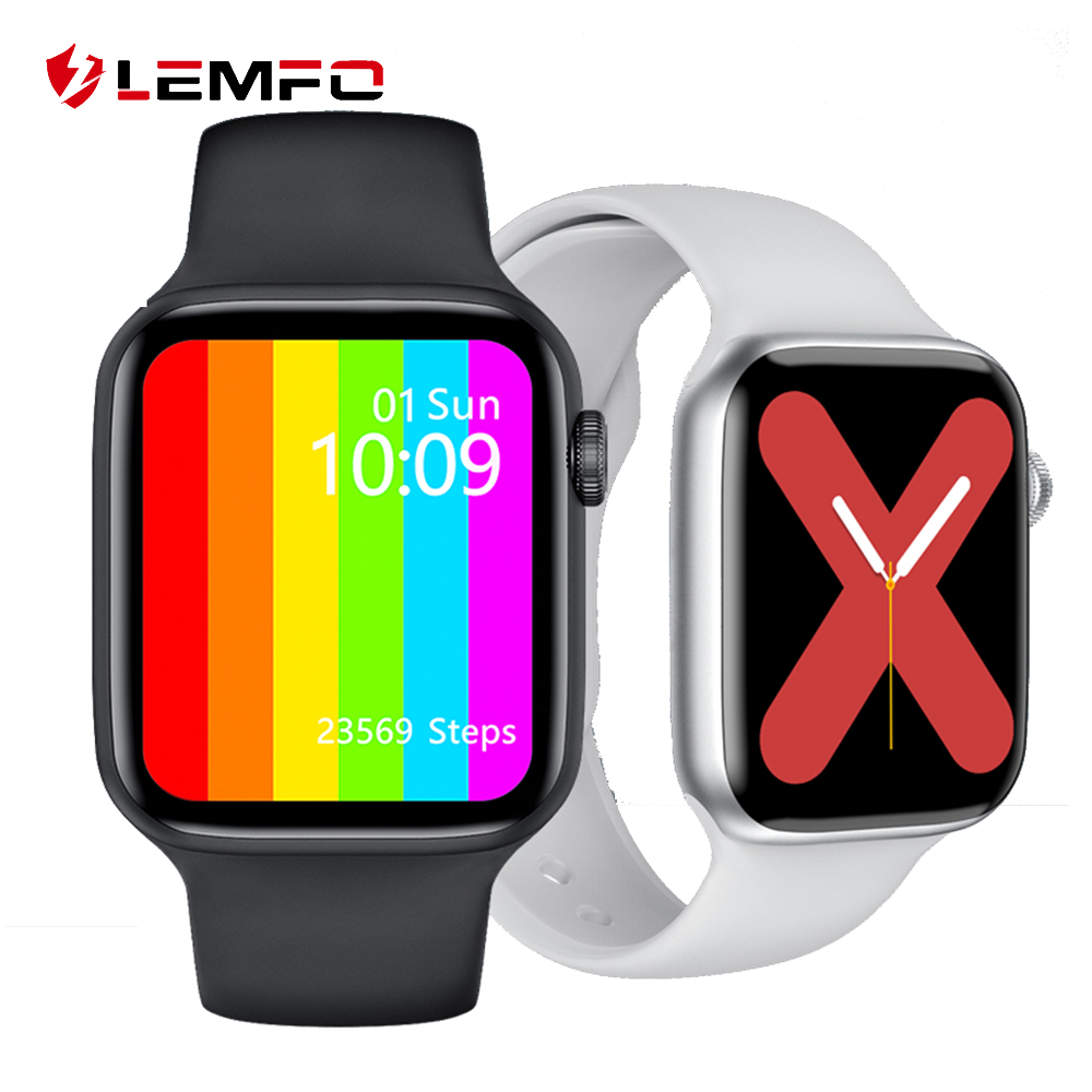 LEMFO W46 Smart Watch 2020 1 75 Inch 320 385 HD Display ECG Body Temperature IP68 Waterproof Smartwatch Men IWO 12 Pro IWO W26
