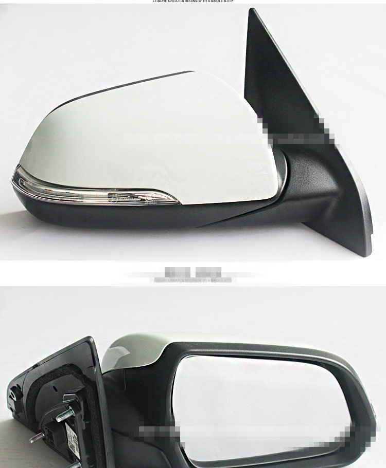 FOR HYUNDAI IX25 Creta folding lamp rearview mirror assembly Low with modified 3/5line 8line low in high Red white blue orange