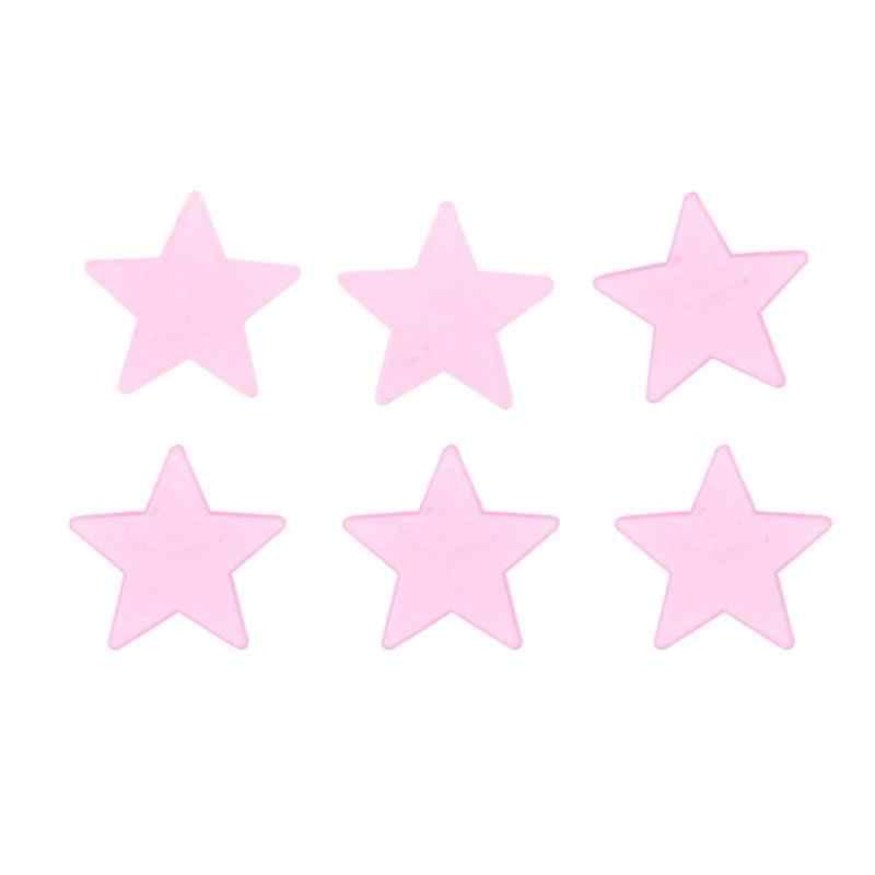 3*3*0.2cm100 pcs étoiles lumineuses PVC coloré autocollants fluorescents bébé enfants bricolage jouets décoration de la maison drôle lueur dans le noir