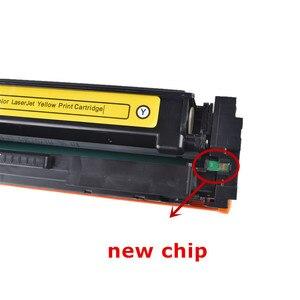 Image 2 - Cartouche Toner de couleur Compatible hp, pour HP LaserJet Pro M252dn M252n M252n MFP M277dw M277n M274n, CF400A CF401A 402 403A 201A