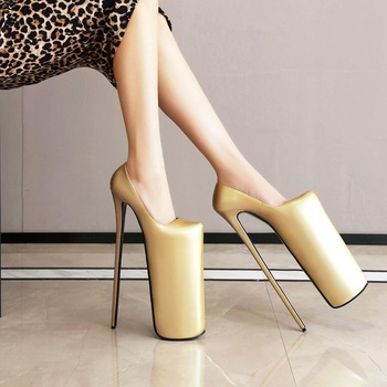 30 cm sexy high heels fashion new banquet thin heel women's shoes manufacturers direct sales image